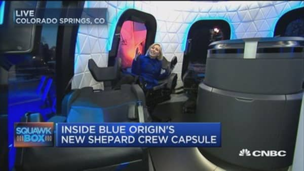 Blue Origin's super-secret project readies for space travel
