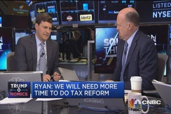 Paul Ryan's 'counter-intuitive' tax plan: Cramer