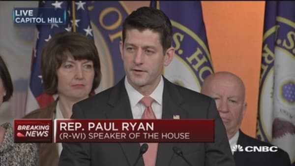 Ryan: We are closer to final health care agreement