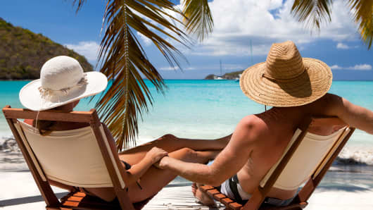 Living abroad retirement beach life
