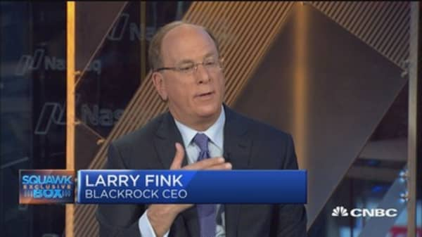 *Fear of retirement is our 'greatest problem,' Larry Fink says*