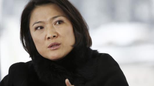 Zhang Xin, chief executive officer of Soho China