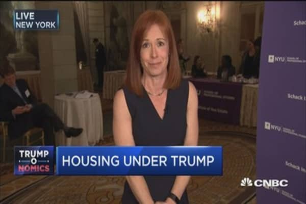 Real estate CEOs on housing under Trump