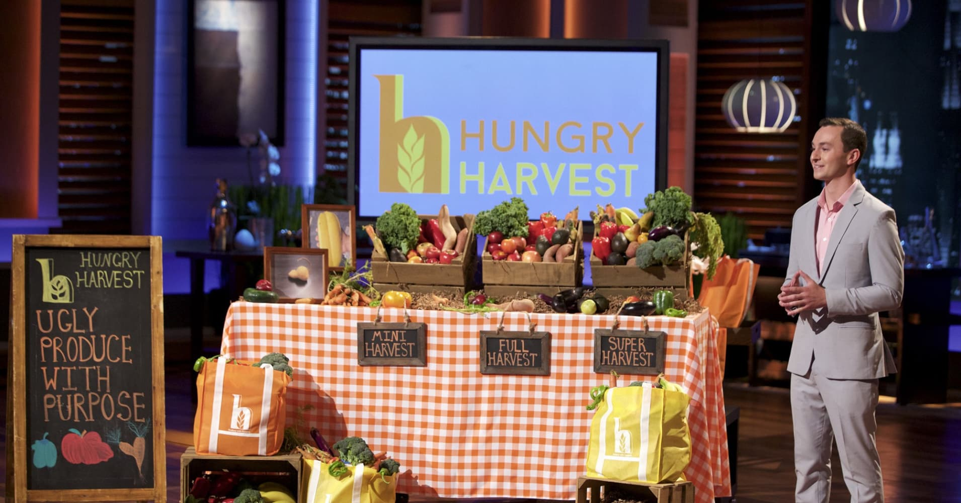 Hungry Harvest is a Shark Tank-backed produce delivery service on a mission to fight food waste and end hunger.