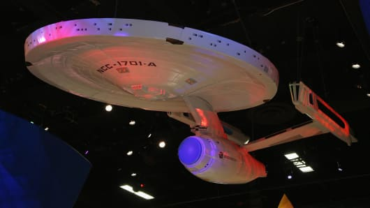 USS Starship Enterprise Fed goes where no one has gone before.