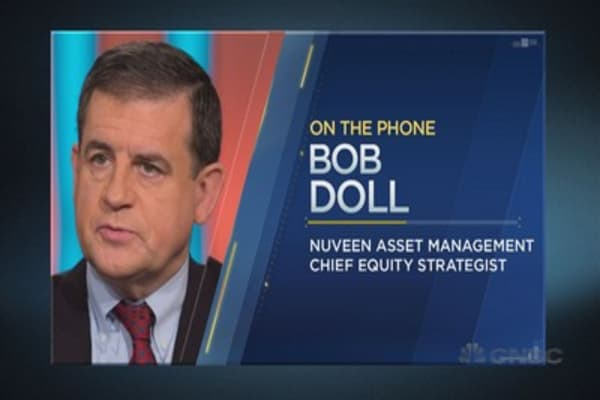 Strategist Bob Doll on what could derail the rally