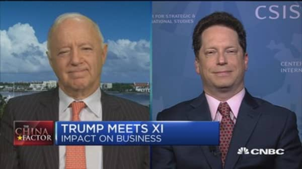 Kennedy: Trump meeting Xi more of a 'get to know you' meeting