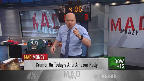 Cramer: Here's what's really causing retail's 'anti-Amazon rally'