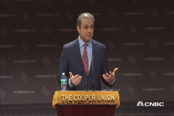 Former US Attorney Bharara on his firing