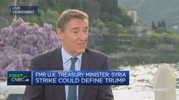 Fmr UK Treasury Min: Pleased by UK PM's trip to India