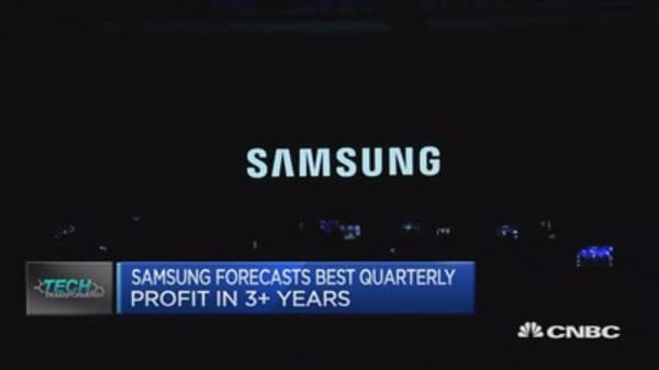 Samsung forecasts best quarterly profit in 3+ years
