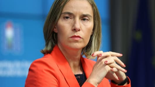 Federica Mogherini,High Representative of the European Union for Foreign Affairs and Security Policy