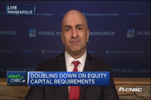 Neel Kashkari: 'Nothing personal' but banks don't have nearly enough capital