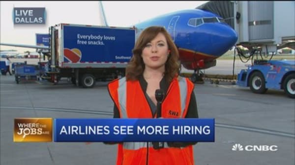 Where the jobs are: Airlines