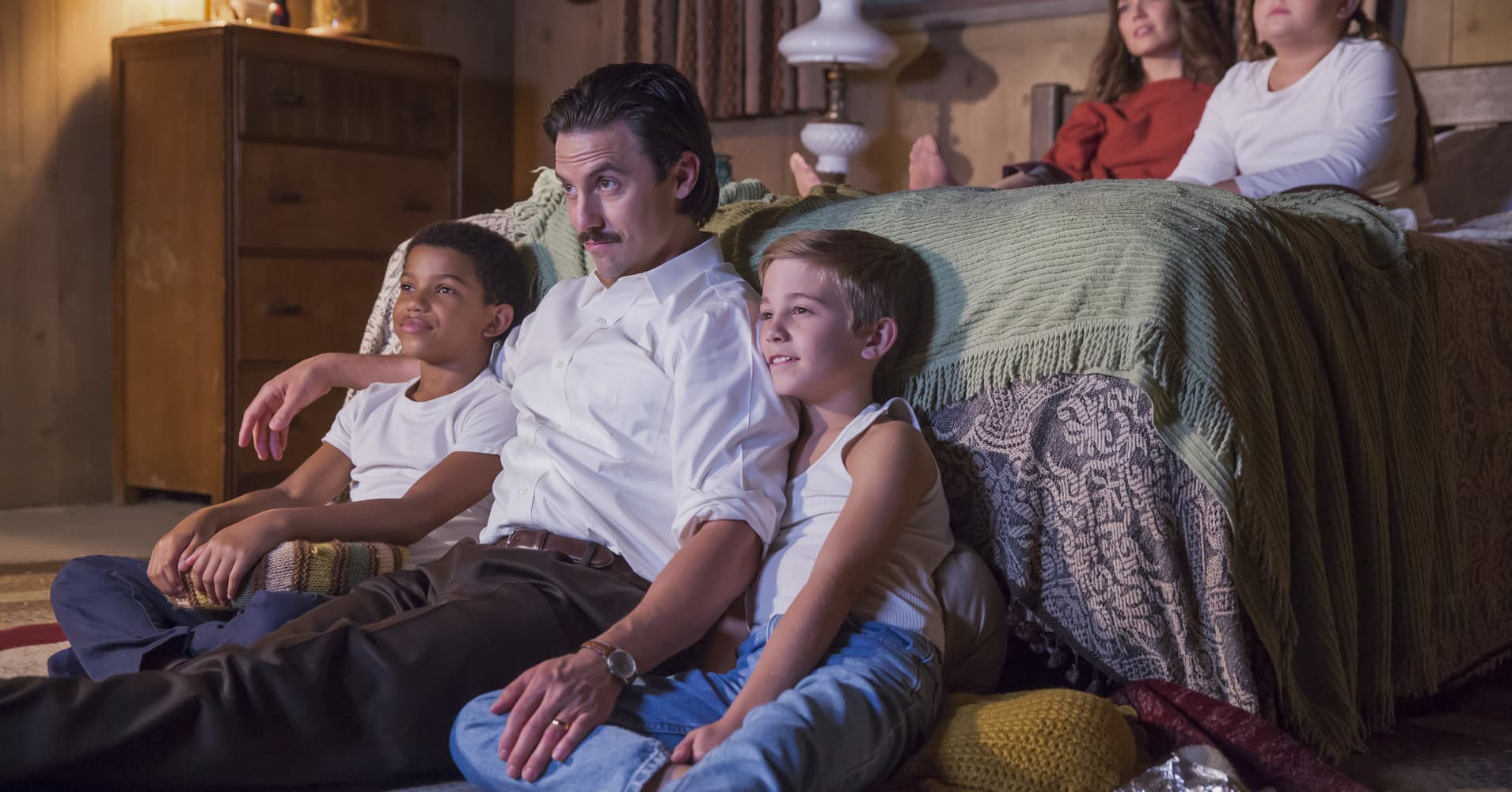"""The Pearson family on NBC's """"This Is Us"""""""