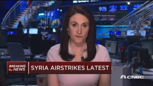 Conflicting reports from US, Russia on Syria strike effectiveness