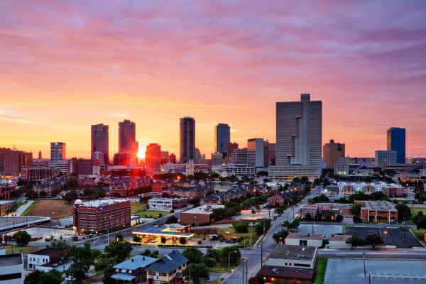 Fort Worth, Texas.