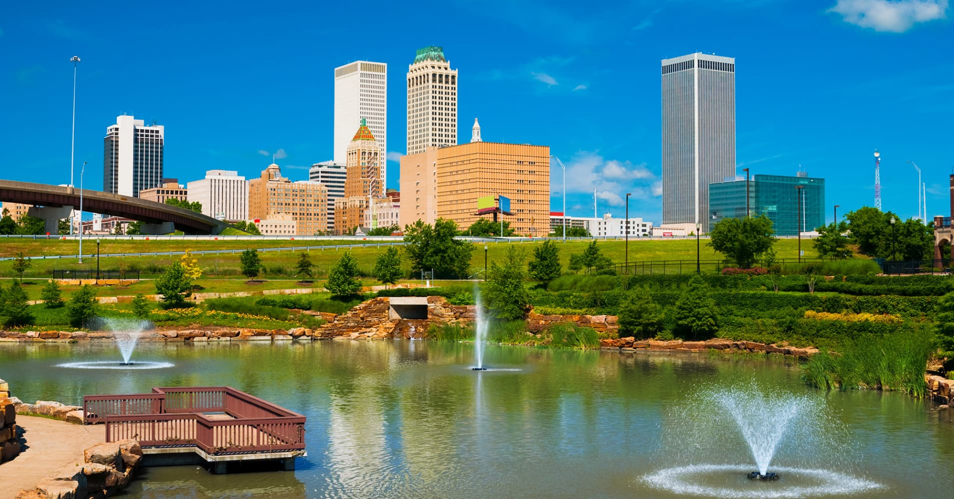 Tulsa, Oklahoma, will pay you $10,000 to move there and work from home