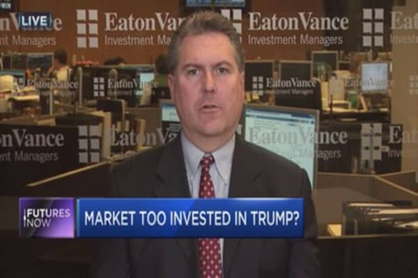 The market is too invested in Trump: Strategist