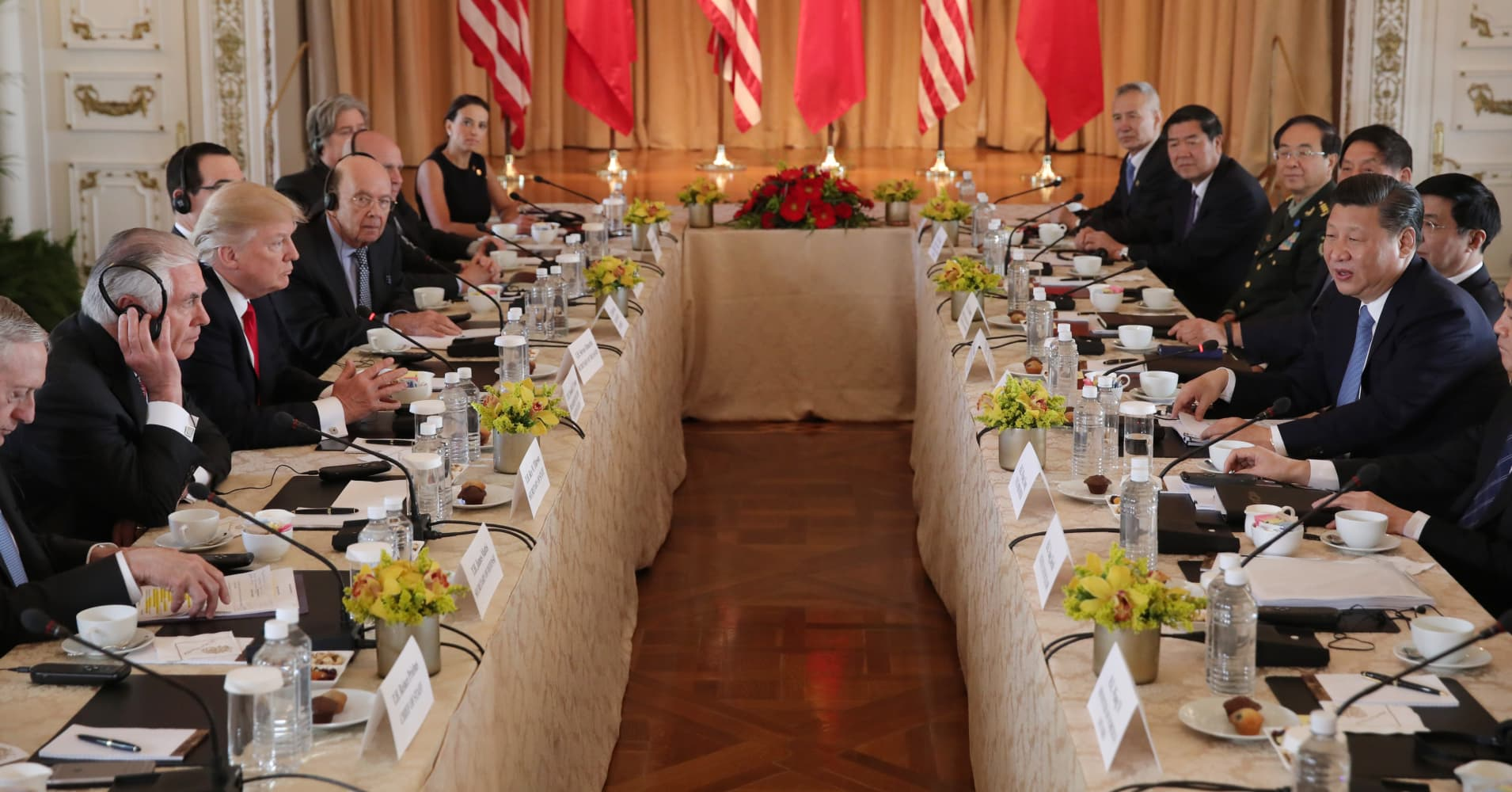 Image result for photos of us meeting with china