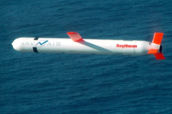 Tomahawk Block IV cruise missile in 2013.