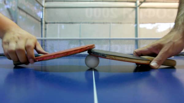 Why this self-made millionaire entrepreneur only meets over ping pong
