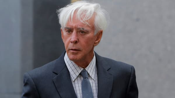 "Professional sports gambler William ""Billy"" Walters departs Federal Court after a hearing in Manhattan, New York City, New York, U.S., July 29, 2016."
