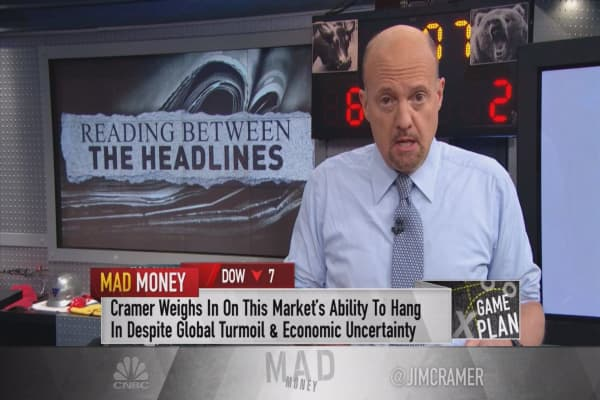 Cramer's game plan: Looking for improvement in a resilient market