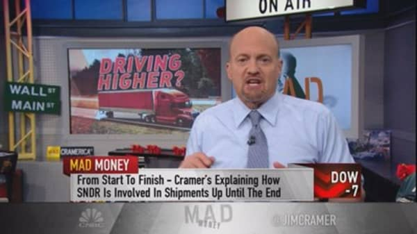 Cramer vets a newly public trucking play that could be the next big Trump stock