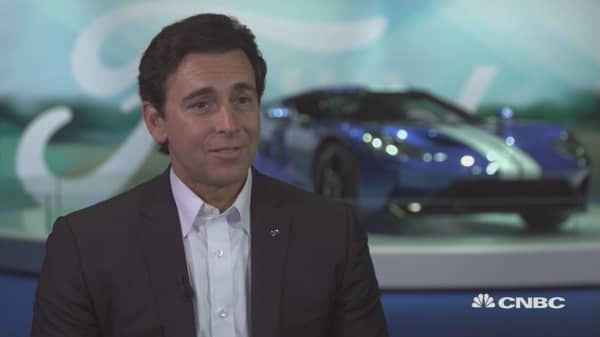 Here's where the Ford CEO sees growth in China