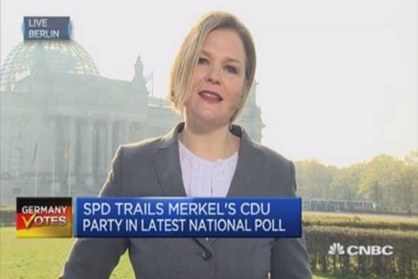 German election heats up: Schulz vs. Merkel