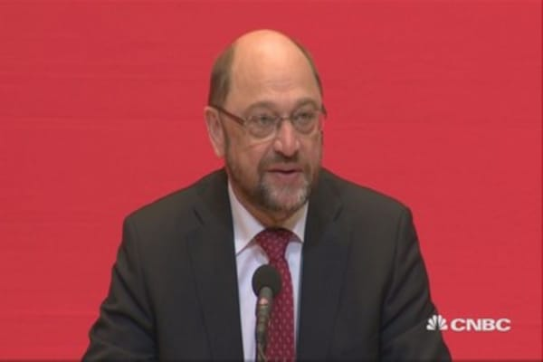 Goal is for SPD to become the 'strongest political force' in Germany: Martin Schulz