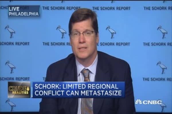Don't expect oil prices above mid- $50 range: Stephen Schork