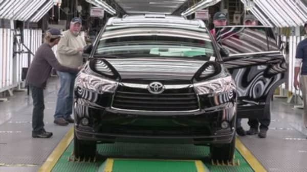 Toyota is putting big money into one of its biggest US factories