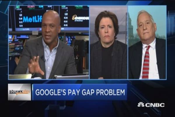 Google's pay gap problem