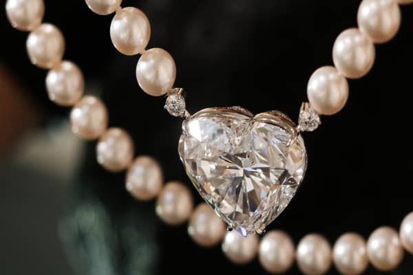 This is the world's biggest heart shaped diamond