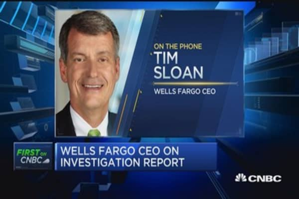 Wells Fargo CEO: Focused on implementing changes and rebuilding trust