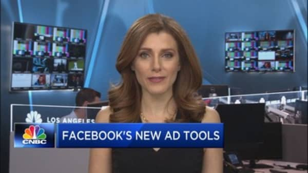 Facebook now has 5 million active advertisers, up from 4 million in September
