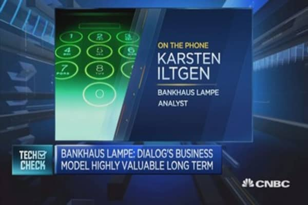 Bankhaus Lampe: Dialog's business model highly valuable long term