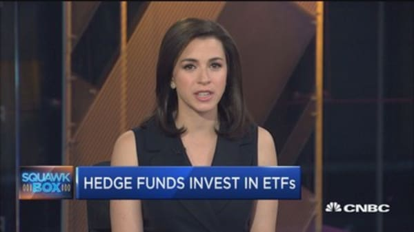 Hegies buying $50B of ETFs