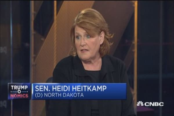 Sen. Heitkamp: I judged Gorsuch on his record