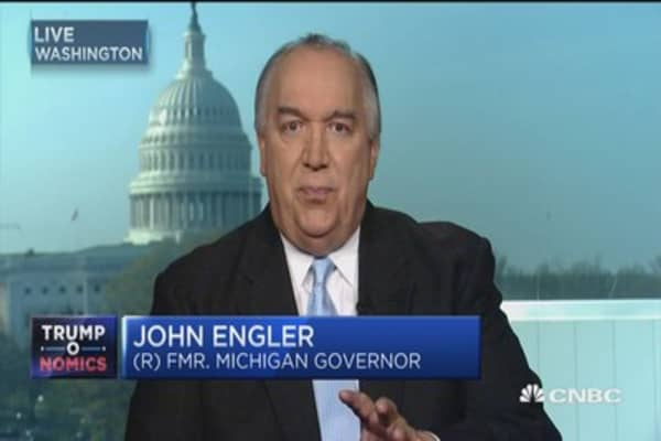 Tax reform tops CEOs wish list: John Engler