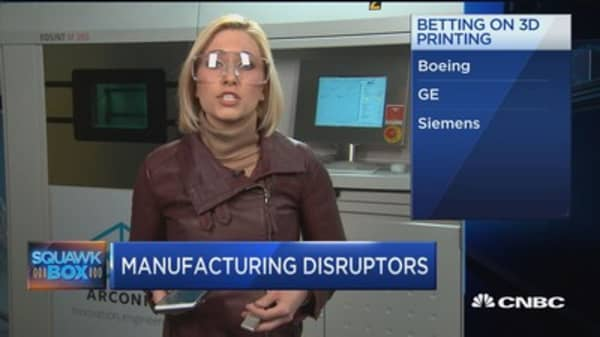 How 3D technolgy is upending manufacturing