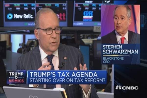 Kudlow on Trump tax agenda