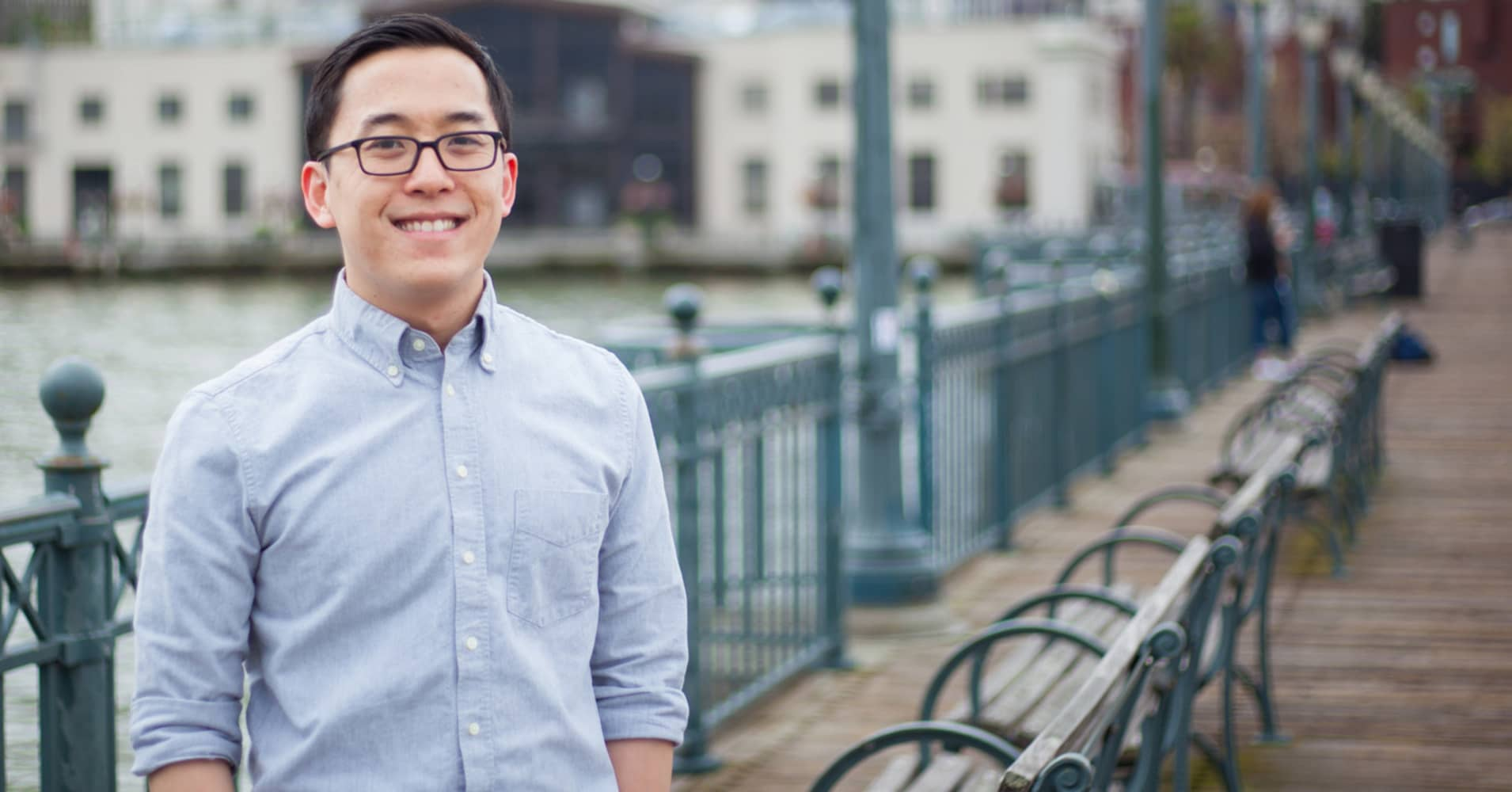 Christopher Tung, co-founder of Huttle.
