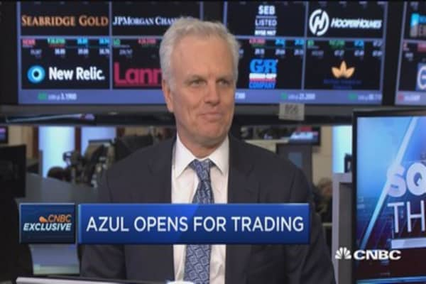 Azul CEO on IPO