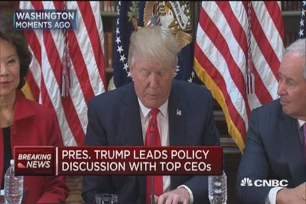 Trump: May eliminate Dodd-Frank rules