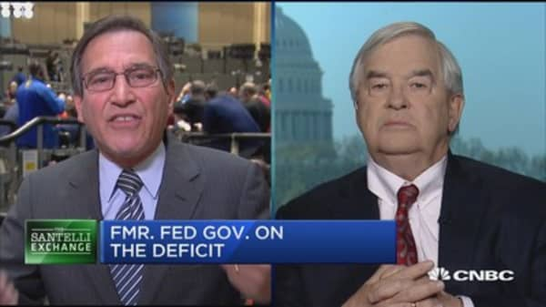 Santelli Exchange: Fmr. Fed. Gov. on unwinding the Fed's balance sheet