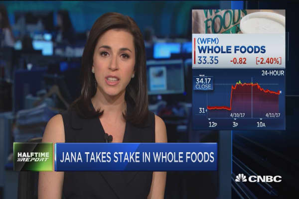 Jana takes Whole Food stake to mull sale, speed turnaround