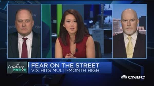 Trading Nation: Investors getting nervous?